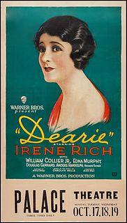 <i>Dearie</i> (film) 1927 film
