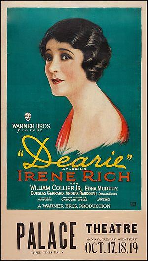 Dearie (film) - Lobby poster