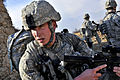 Defense.gov News Photo 110501-F-XXXXX-214 - U.S. Air Force airmen survey the area during a routine patrol outside Bagram Airfield Afghanistan on May 1 2011. The airmen are assigned to the.jpg