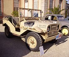 Photo de Jeep Delahaye VLR