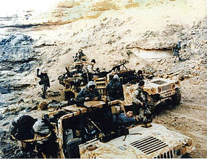 Delta Force - Delta Force, soldiers pictured deep behind Iraqi lines during the 1991 Gulf War