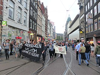 No Border network - No Border demonstration