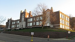 Dennison High School at dawn.jpg