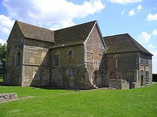 Denny Abbey church in South Cambridgeshire, UK