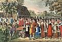 Freischütz-Aufführung um 1822