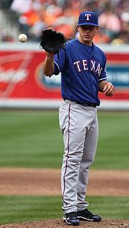 Derek Holland American baseball player
