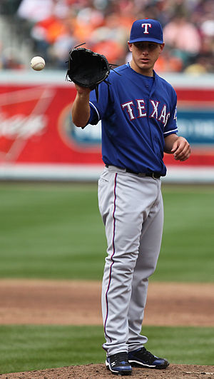 Derek Holland - Holland with the Texas Rangers