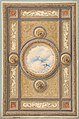 Design for a carved and painted ceiling with clouds and ducks in the central circular panel MET DP811566.jpg