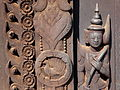 Detail of Exterior Woodwork - Shwe In Bin - Teak Monastery 3.jpg