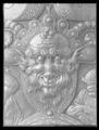 Detalj maskaron Skoklosterskölden - Livrustkammaren - 77266.tif