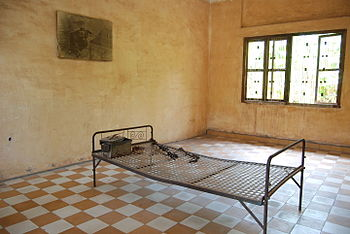 Detention and torture room, Security Prison 21...