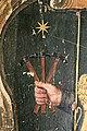 Dettaglio dello stemma falaschi martellini in palazzo della cancelleria,2.jpg