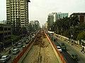 Dhaka Mass Rapid Transit Development Project work going .jpg