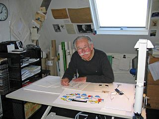 Dick Bruna Dutch writer and illustrator