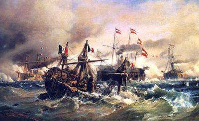 Bataille de Lissa (1866) — Wikipédia