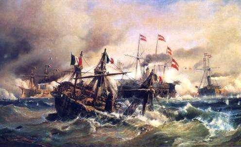 Die Seeschlacht bei Lissa
