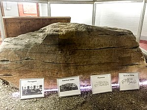 Dighton Rock - The rock today is on display in a small museum