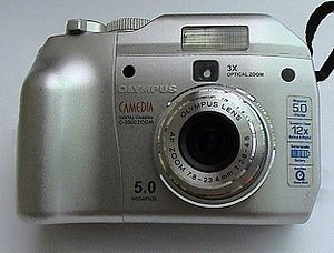 Digital camera Olympus Camedia C-5000 Zoom