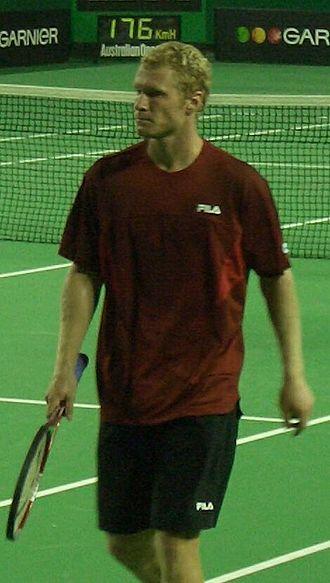 Dmitry Tursunov - Tursunov at Australian Open 2006.