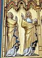 Doberan Münster - Kreuzaltar Marienseite 1 Verkündigung Maria.jpg