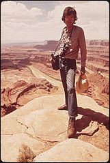 Documerica Photographer, David Hiser, at Dead Horse Point, 05-1972 (3814966348).jpg