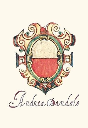 Andrea Dandolo - Andrea Dandolo's coat of arms.