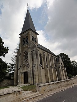 Dommiers (Aisne) église.JPG