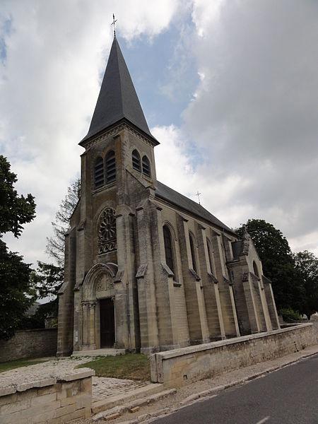 Dommiers (Aisne) église