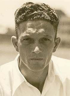 Don Tallon with the Australian cricket team in England in 1948 cricketer