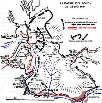 Mont Donon - Image: Donons bataille 1