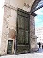 Doors at Porta del Popolo in the Aurelian Walls, Rome.jpg