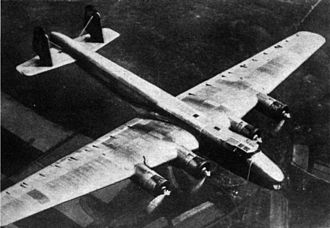 Ural bomber - One of the Dornier Do 19 prototypes in flight