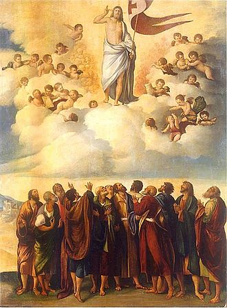 Ascension of Jesus - The Ascension, Dosso Dossi, 16th century.