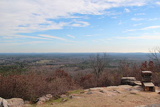 F. D. Roosevelt State Park - View from Dowdell's Knob.