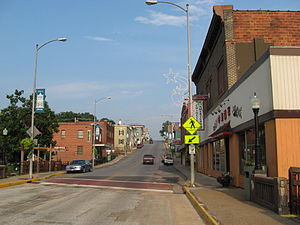 Luray, Virginia - Downtown Luray in the early morning