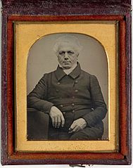 Dr William Bland daguerreotype