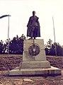 Draža Mihailović Monument on the Ravna Gora (1992).jpg