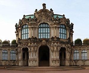Wallpavillion Zwinger Dresden