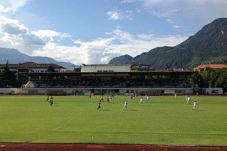 F.C. Südtirol - The Drusus stadium in Bolzano