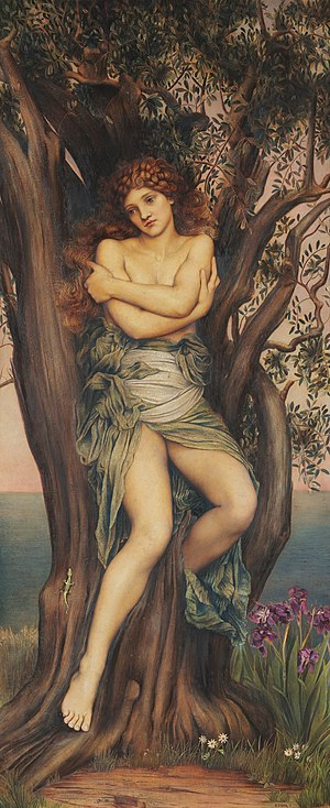 Dryad - The Dryad by Evelyn De Morgan.