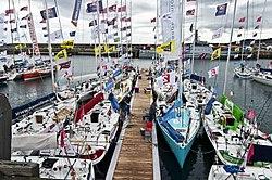 Dun Laoghaire welcomes the world famous Solitaire du Figaro yacht race with Festival des Bateaux (6036933186).jpg