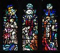 Dundalk Saint Patrick's Pro-Cathedral East Aisle Window 01 Upper Lights 2013 09 23.jpg