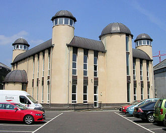 Religion in Scotland - Dundee Central Mosque, the first in Scotland built for that purpose