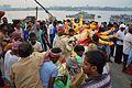 Durga Idol Immersion Procession - Baja Kadamtala Ghat - Kolkata 2015-10-22 6578.JPG
