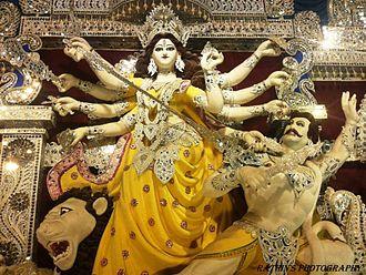 Badkulla - famous for durga puja