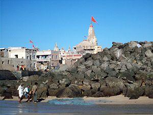 Dwarka - Dwarka coast