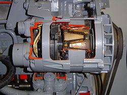 Kawasaki D Alternator