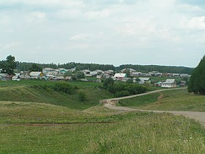 Sharansky District - The selo of Dyurtyuli in Sharansky District
