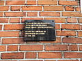 Ełk. Tablica na ścianie zabytkowej sali sportowej przy ul. Armii Krajowej 16.jpg