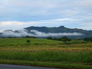 English: Morning near Nadi, Fiji